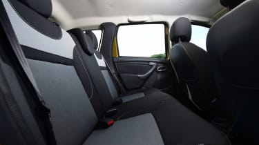 Dacia Duster - rear seats