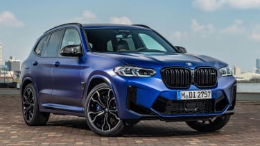 BMW X3 M - front static