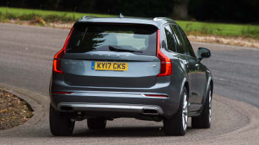 Volvo XC90 T8 - rear action