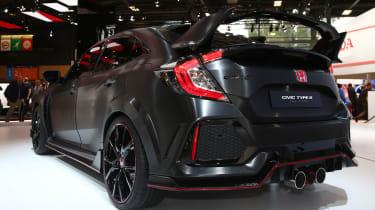 Honda Civic Type R prototype rear
