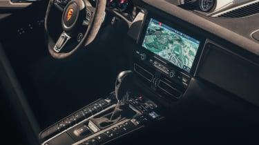 Porsche Macan - centre console