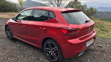 New SEAT Ibiza FR 2017 rear
