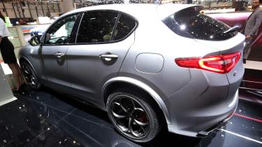 Alfa Romeo Stelvio NRING - Geneva rear