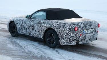 BMW Z4 2017 side rear
