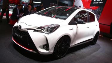 Toyota Yaris GR Sport - Paris front
