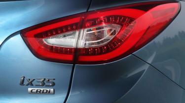 Hyundai ix35 Premium SE badge