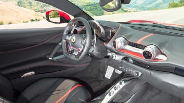Ferrari 812 Superfast - cabin
