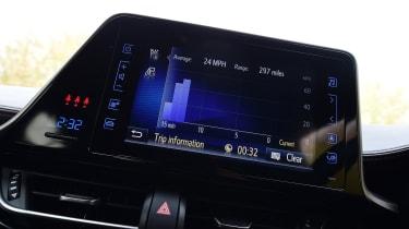 Toyota C-HR - Trip Computer