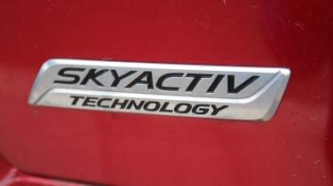 Mazda CX-5 SUV - badge