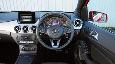 Mercedes B-Class - cabin