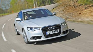 Audi A6 2.0 TDI front track