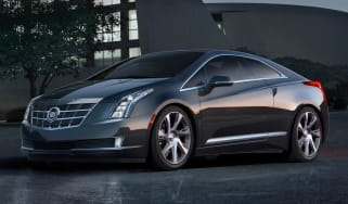 Cadillac ELR front
