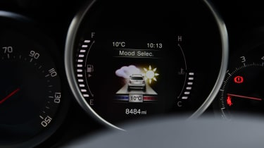 Fiat 500X long termer - mode display