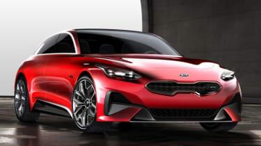 Kia Cee'd concept 2017 - front