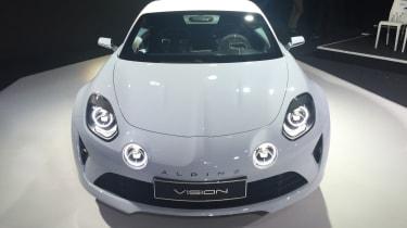 Renault Alpine Vision concept - show reveal front