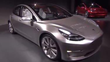 Tesla Model 3 reveal - front