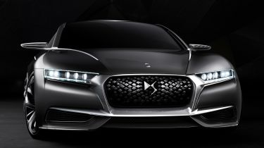 DS Divine concept front angle
