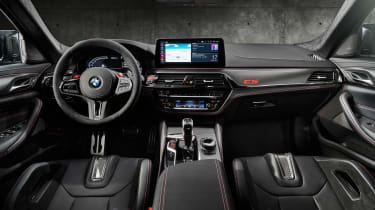BMW M5 CS - studio cabin