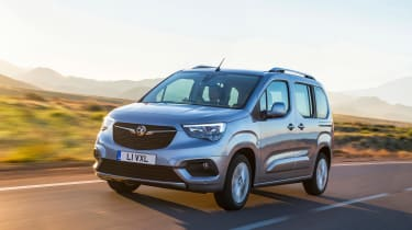 Vauxhall Combo Life - front action