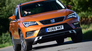 Long-term test review: SEAT Ateca - front cornering