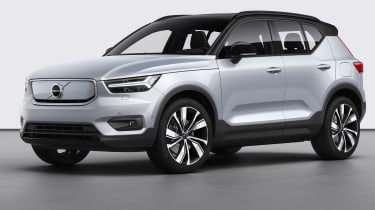 Volvo XC40 Recharge - front 3/4 static
