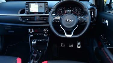 Used Kia Picanto Mk3 - dash