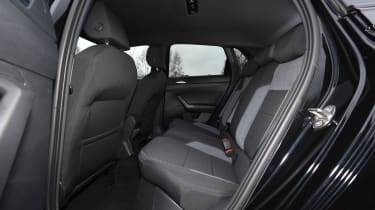 vw polo rear seats
