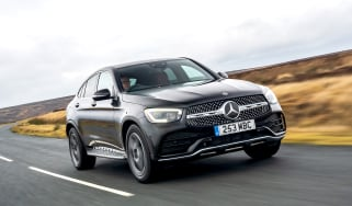 Mercedes GLC Coupe - tracking