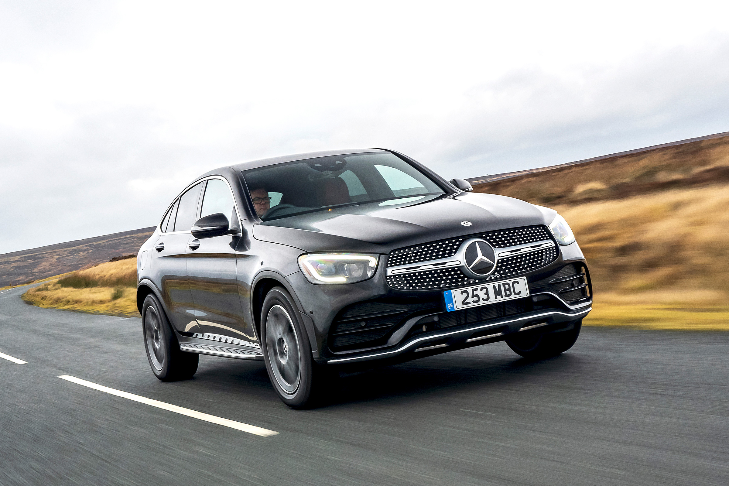 New Mercedes Glc 300 Coupe 2020 Review Auto Express