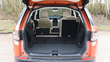 Used Land Rover Discovery Sport - boot