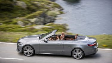 Mercedes E-Class Cabriolet - side action
