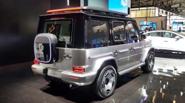 Mercedes Concept EQG - Munich rear