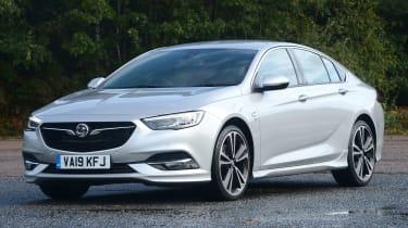 Vauxhall Insignia Grand Sport - front 3/4 static