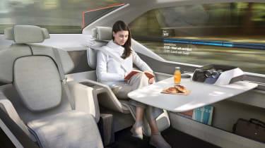 Volvo 360c concept - cabin