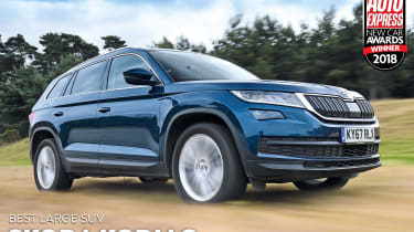 Skoda Kodiaq - Large SUV of the Year 2018