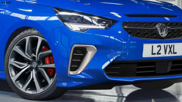 Vauxhall Corsa VXR - front detail (watermarked)