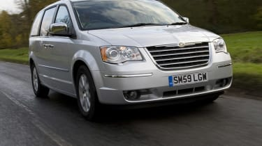The Grand Voyager is less practical than a european equivilent such as a Ford Galaxy.