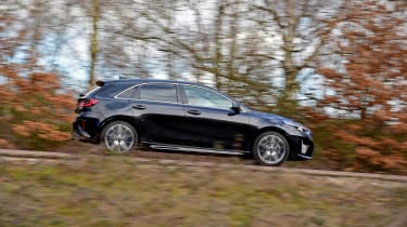Kia Ceed GT-Line S long termer - side action