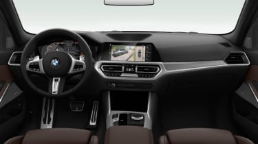 Leaked BMW 3 Series - dash