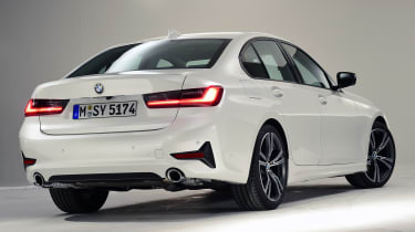 BMW 3 Series - studio rear