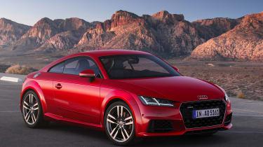 Audi TT - front static