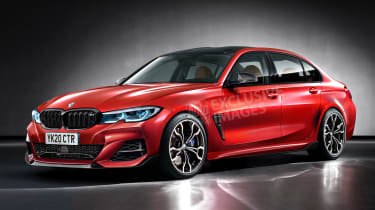 BMW M3 - front (exclusive image)