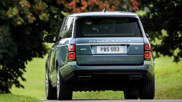 Range Rover SDV8 - rear