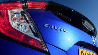 Honda Civic - badge