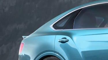 Bentley Bentayga coupe SUV - rendering - rear