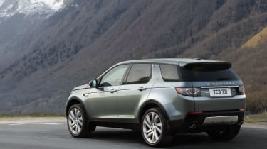 Land Rover Discovery Sport rear static
