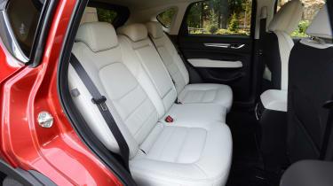 New Mazda CX-5 - rear seats