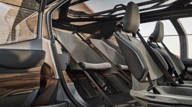 Audi AI:TRAIL concept - rear seats