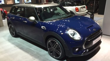 New MINI Clubman 2015 at Frankfurt front