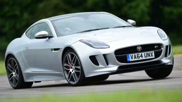 Jaguar F-Type R Coupe front